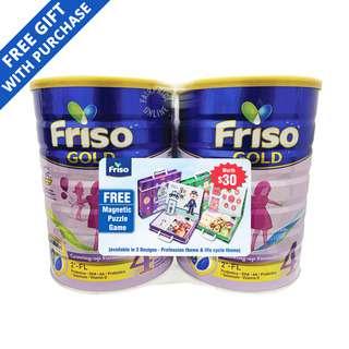 Friso Gold Growing-Up Milk Formula - Stage 4