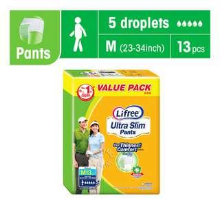 Lifree Ultra Slim Unisex Adult Pants - M