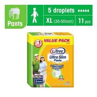 Lifree Ultra Slim Unisex Adult Pants - XL