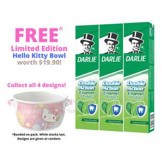 Darlie Double Action Toothpaste - Enamel Protect