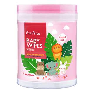 FairPrice Baby Wipes - Scented