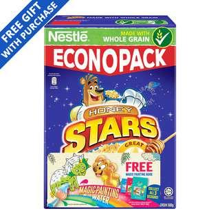 Nestle Cereal - Honey Stars + Magic Painting Book