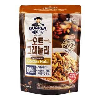 Quaker Oats Granola - Golden Nuts
