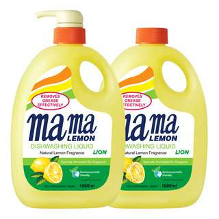 Mama Lemon Dishwashing Liquid & Refill - Natural Lemon