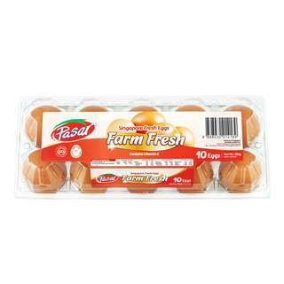Pasar Singapore Fresh Eggs