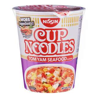Nissin Instant Cup Noodles - Tom Yam Seafood