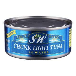 S&W Chunk Light Tuna in Water