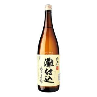 Hakushika Sake - Nada Jikomi Karakuchi