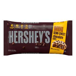 Hershey's Chocolate Mini Chips - Semi-Sweet