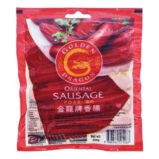 Golden Dragon Oriental Sausage - Pork