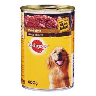 Pedigree Home Style Dog Wet Food - 5 Kinds Meat