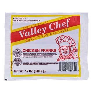 Valley Chef Frozen Chicken Franks