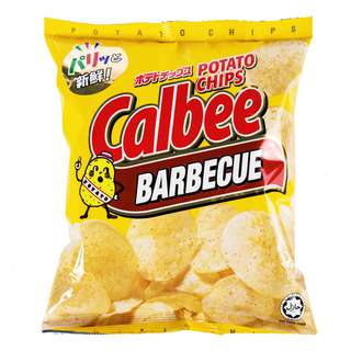 Calbee Potato Chips - BBQ