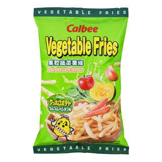 Calbee Vegetable Fries Chips - Barbeque