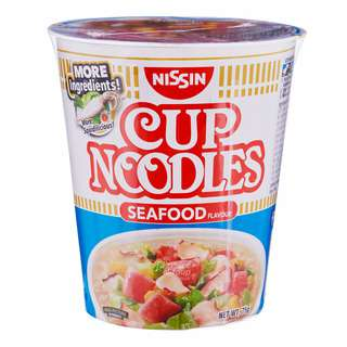 Nissin Instant Cup Noodles - Seafood