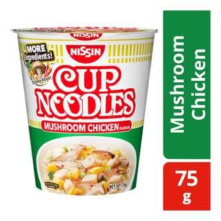 Nissin Instant Cup Noodles - Mushroom Chicken