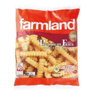 Farmland Frozen Premium Fries - Crinkle Cut