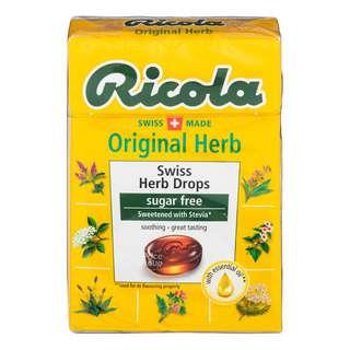Ricola Natural Relief Swiss Herb Lozanges - Original (No Sugar)