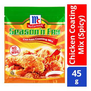McCormick Season 'n Fry - Chicken Coating Mix (Spicy)