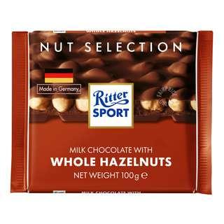 Ritter Sport Chocolate - Whole Hazelnuts