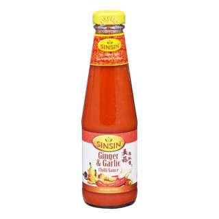 Sin Sin Chili Sauce - Ginger & Garlic