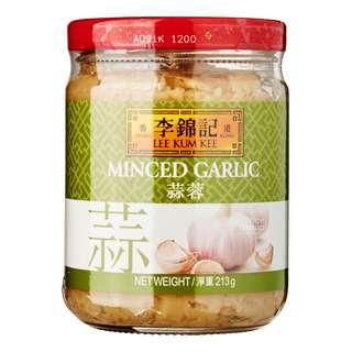 Lee Kum Kee Minced Garlic - Freshly