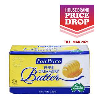 FairPrice Block Butter - Pure Creamery