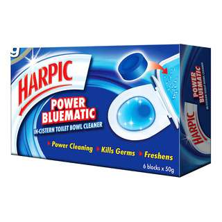 Harpic Toilet Bowl Cleaner - Power Bluematic
