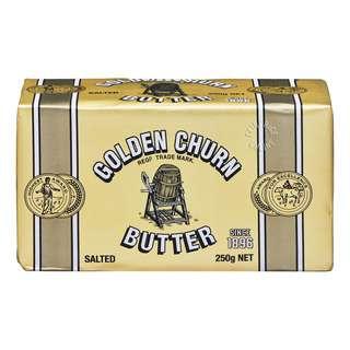 Golden Churn Butter Block - Salted