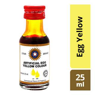 Star Brand Artificial Food Colouring - Egg Yellow