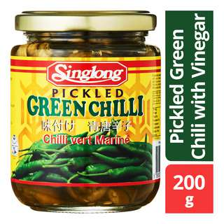 Singlong Pickled Green Chili with Vinegar