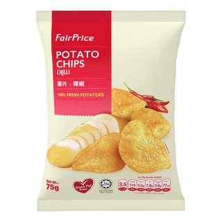 FairPrice Potato Chips - Chili