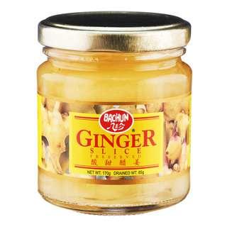 Bachun Preserved Ginger Slice
