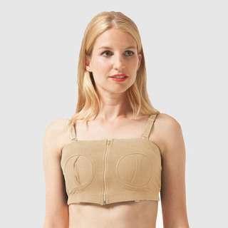 Spring Maternity Maryann Hands-Free Breastpump Bra Nude