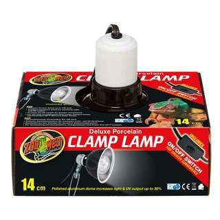 Zoo Med Porcelain Clamp Lamp 14cm