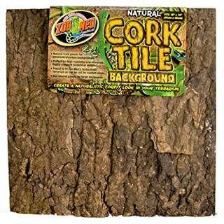 Zoo Med Natural Cork Tile Background (NT3) (L)