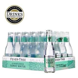 Fever Tree Elderflower Tonic Mixer - Case
