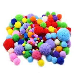 VIP Cotton Ball Mix Colour Pack