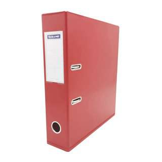 A4 PVC Arch File Red 3