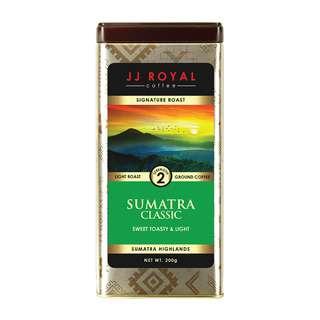 JJ Royal Coffee Sumatra Classic (Ground)