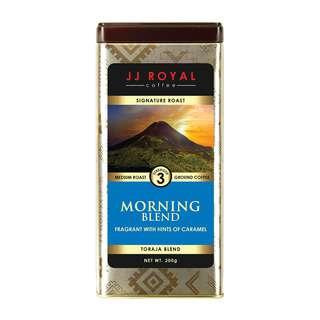 JJ Royal Coffee Morning Blend (Ground)