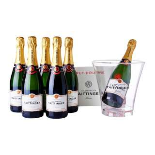 Taittinger Brut Reserve Case + Free Bucket-By Culina