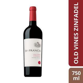 St Francis Old Vines Zinfandel-By Culina