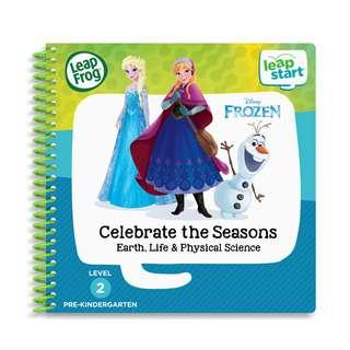 LeapFrog Leapstart Book-Disney Frozen Celebrate The Seasons Earth
