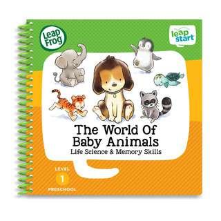 LeapFrog Leapstart Book - Pre-School, The World Of Baby Animals