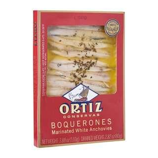 Ortiz Premium Boquerones Marinated White Anchovies -By Culina
