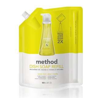 Method Dish Soap Refill - Lemon Mint