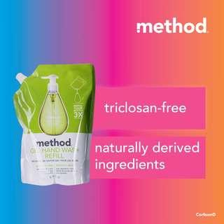 Method Gel Hand Wash Refill - Green Tea + Aloe