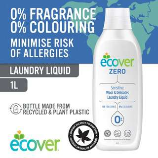 Ecover ZERO Wool & Delicates Laundry Liquid