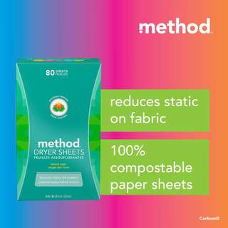 Method Dryer Sheets - Beach Sage
